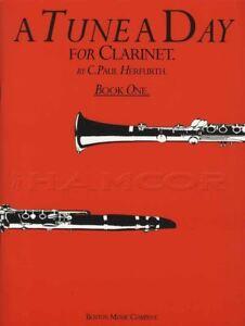 A Tune A Day For Clarinette 1 Partition Livre Apprendre à Jouer Méthode-afficher Le Titre D'origine