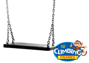 Commercial-Heavy-Duty-Rubber-Swing-Seat-with-galvanised-chain-playground-safe