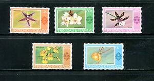 Trinidad-amp-Tobago-1978-284-8-flora-orchids-5v-MNH-E491
