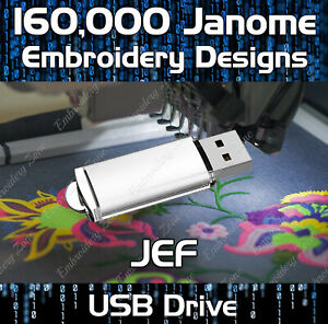 Janome USB Cable For Janome /& Elna Embroidery Machines