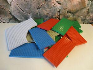 C-13-LEGO-4-dicke-Bauplatten-Grundplatten-Basic-Platten-Sammlung-Konvolut-Kg