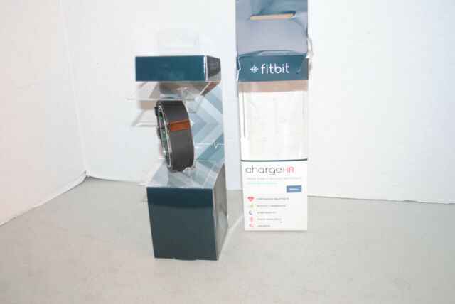 Fitbit Charge HR Wireless Tracker Monitor Wristband Heart Rate - Black, Small