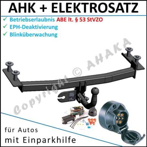 AHK /& ES7 Ford Fiesta IV Bj 96-02 Anhängerkupplung DPC EPH-Abschaltung komplett