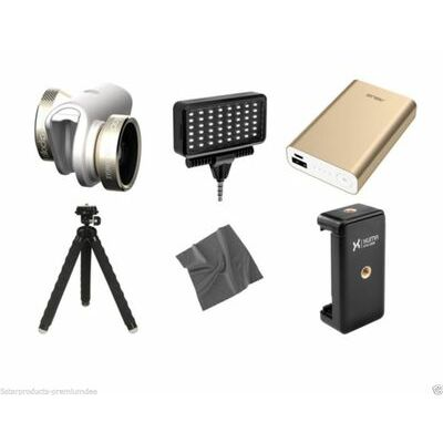 Olloclip 9-In-1 Lens Camera Kit iPhone 6 6s 6 Plus 6s + Fisheye Wide-Angle Macro