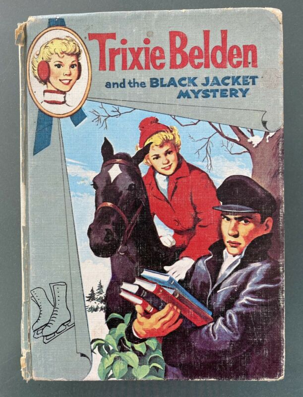 Trixie Belden and the Black Jacket by Kathryn Kenny.