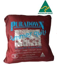 Puradown-Summer-80-20-Duck-Down-Doona-Quilt-SUPER-KING-KING-QUEEN-DOUBLE-SINGLE