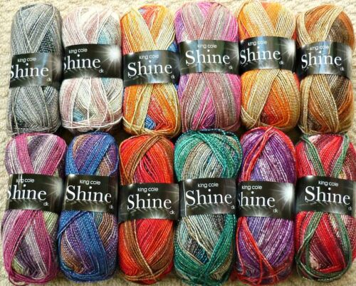 KNITTING PATTERN Ladies Easy Knit Long /& Short Sleeve Jumper Shine DK KC 4378