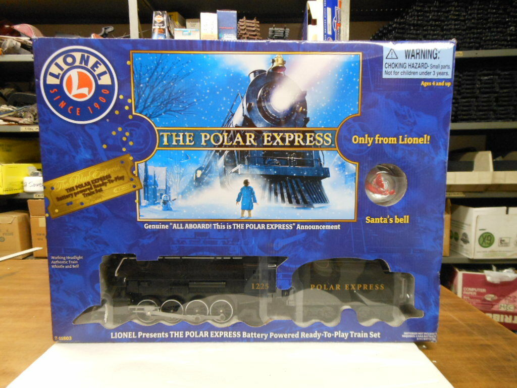 Lionel G Scale Polar Express  Ready To Play  Train Set 7-11803