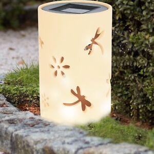 Led Jardin Lampadaire Solaire Course Balcon Lampe Decoration Bougie