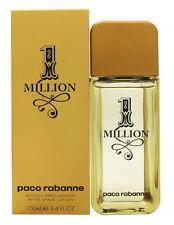 PACO RABANNE 1 MILLION AFTERSHAVE SPLASH 100ML - MEN'S FOR HIM. NEW