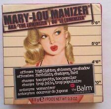 The Balm Mary Lou Manizer Highlighter Luminizer Puder 8,5g