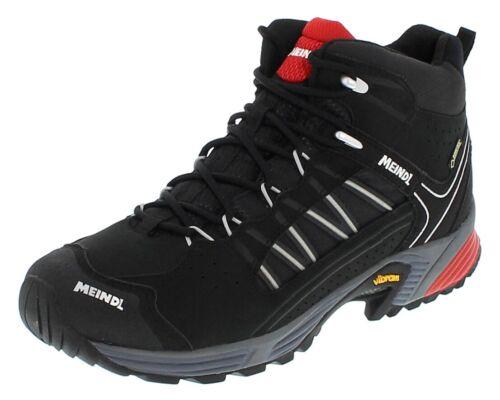 Meindl 3062 Rot Schwarz Herren Wanderstiefel Schwarz Hiking Gore-Tex