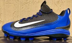 ad453ab65601 Mens Nike Huarache 2KFilth Elite MCS Baseball Cleats Size 11 Royal ...
