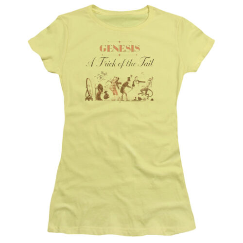 GENESIS TRICK OF THE TAIL Licensed Women /& Junior Band Tee Shirt SM-2XL