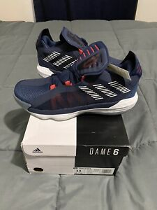 Adidas-Dame-6-GCA-Team-USA-Size-11-Men-s-Basketball-Shoes