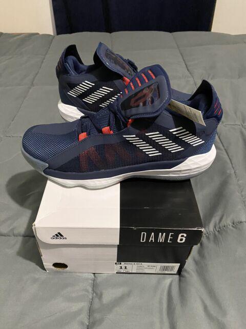 Adidas Dame 6 GCA Team USA Size 11 Men's Basketball Shoes