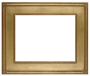 16 X 20 Plein Air Picture Frame Hand Applied Gold Metal Leaf Best