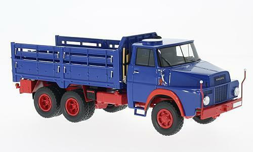 Henschel HS 3-14 6x6 bleu rouge 1 43 MODEL NEO scale Models