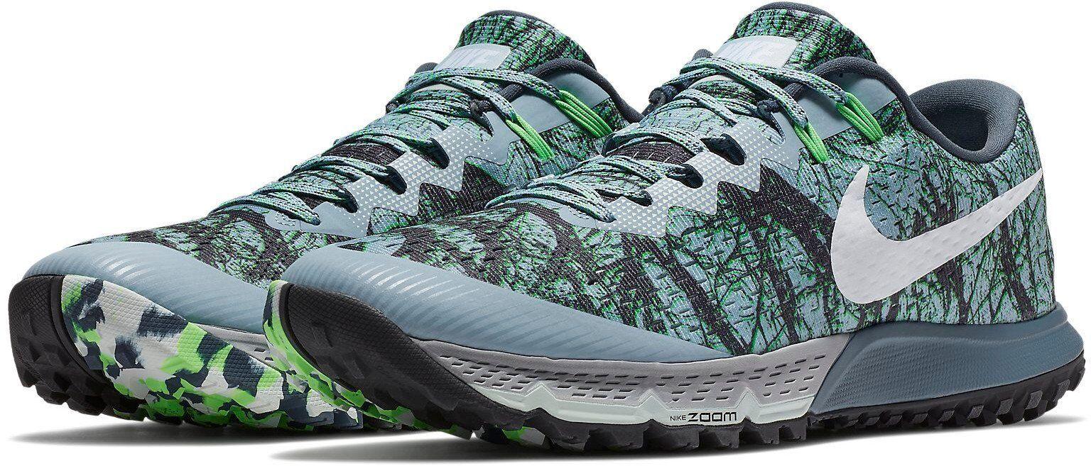 Nike Air Zoom Terra Kiger 4 Trail Running shoes - Men's 880563 400 (NO BOX LID)