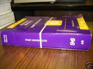 1996-Dodge-RAM-VAN-WAGON-Service-Shop-Manual