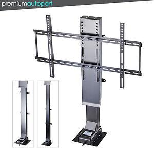 Motorized 32 50 flat tv lifting mount bracket w for Motorized tv wall mount reviews