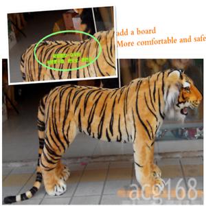 2020-Giant-Simulation-Tiger-Plush-Soft-Big-Ride-Tiger-Toy-Kid-Gift-125cm-60cm-UK