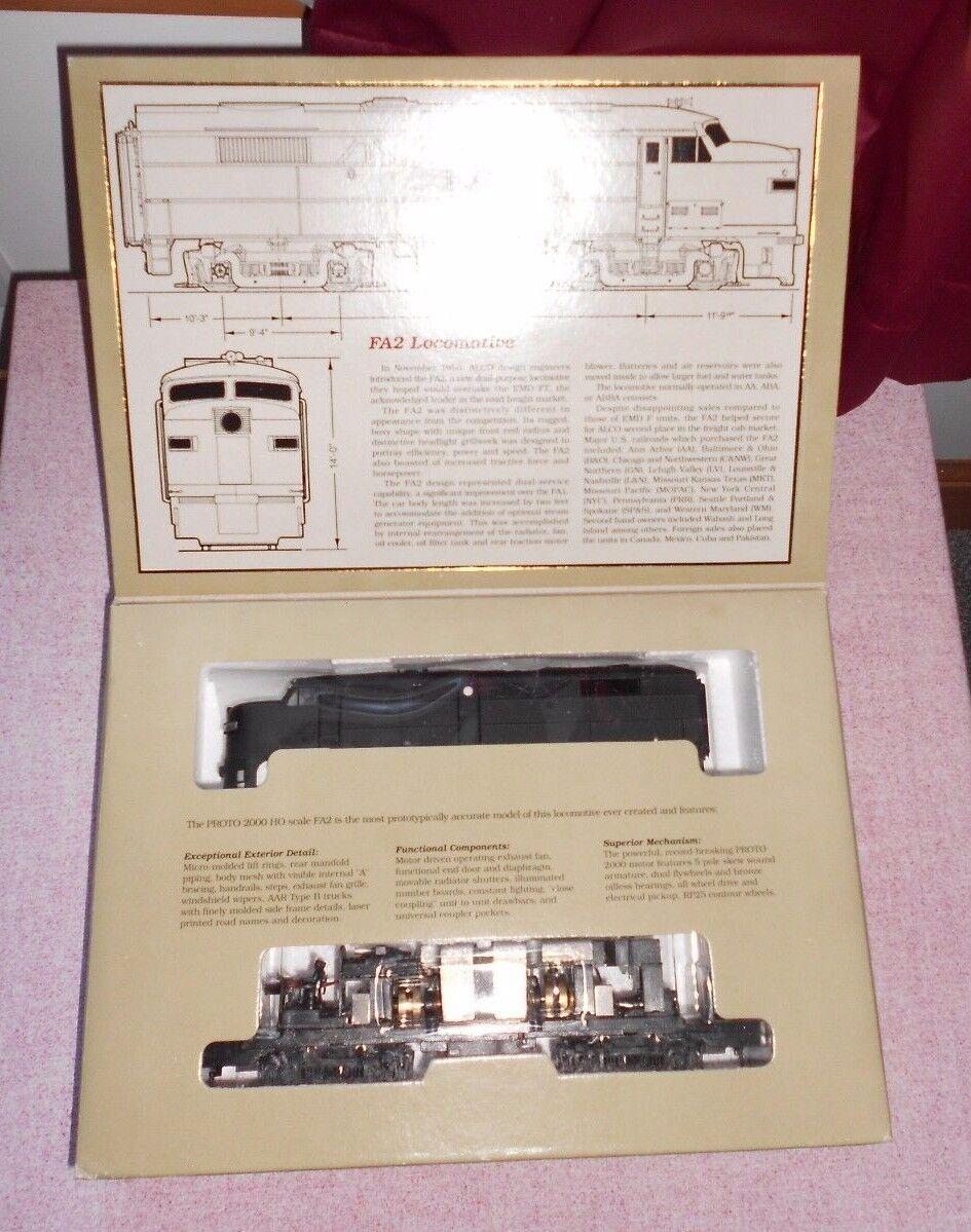 Projoo 2000 FA2 Diesel Locomotora Ho Calibre Decorar DC Nuevo En Caja