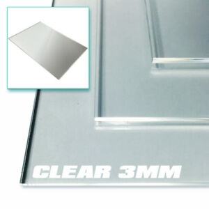 Clear Acrylic Sheet A4 A5 3mm