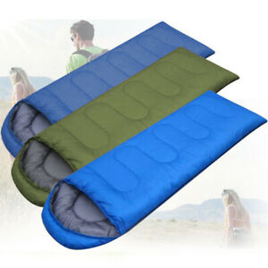 Details About Outdoor Envelope Ultralight Sleeping Bag Waterproof Warm Camping Hiking Us