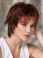 Play Wig By Ellen Wille All Colors Choppy Layered Short Wig, Mono Crown