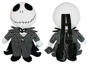 image is loading nightmare before christmas plush backpack jack skellington doll