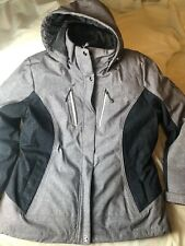 *NEW* Gerry Women/'s Softshell Removable Plush Jacket and Hood 3 in 1 Jacket