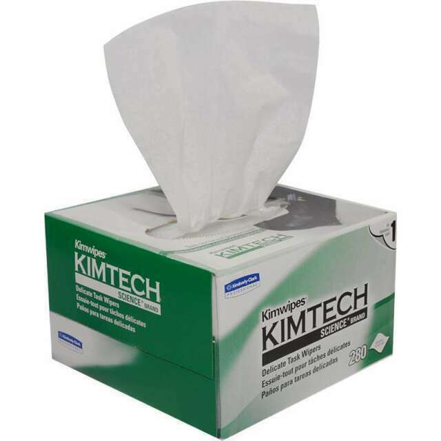 300 Count 2 Boxes Kimwipes Kimtech Science Disposable Delicate Task Wipes