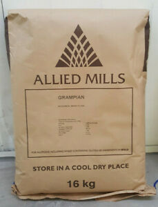 Allied-Mills-Grampian-16Kg-Catering-en-Gros-Fort-Complet-Marron-Pain-Fluorine