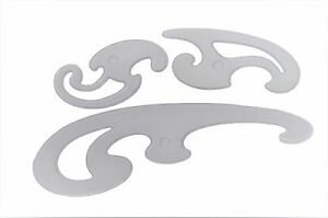 french curve set curved rulers drawing drafting stencil templates 3