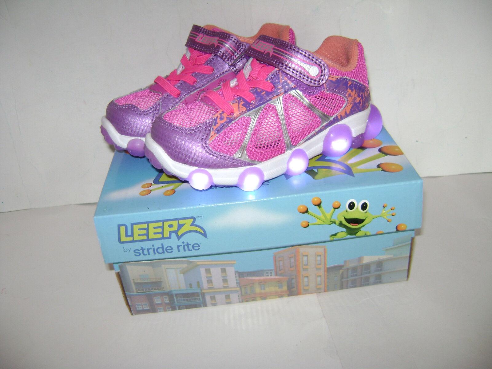 NIB Stride Rite Leepz Light Up Sneaker