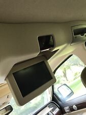 Lincoln Aviator Roof Mounted Rear DVD Player W/Screen Tan OEM LKQ