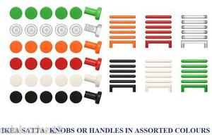 ikea satta boutons poign es en lot de 6 tiroirs placard portes ebay. Black Bedroom Furniture Sets. Home Design Ideas