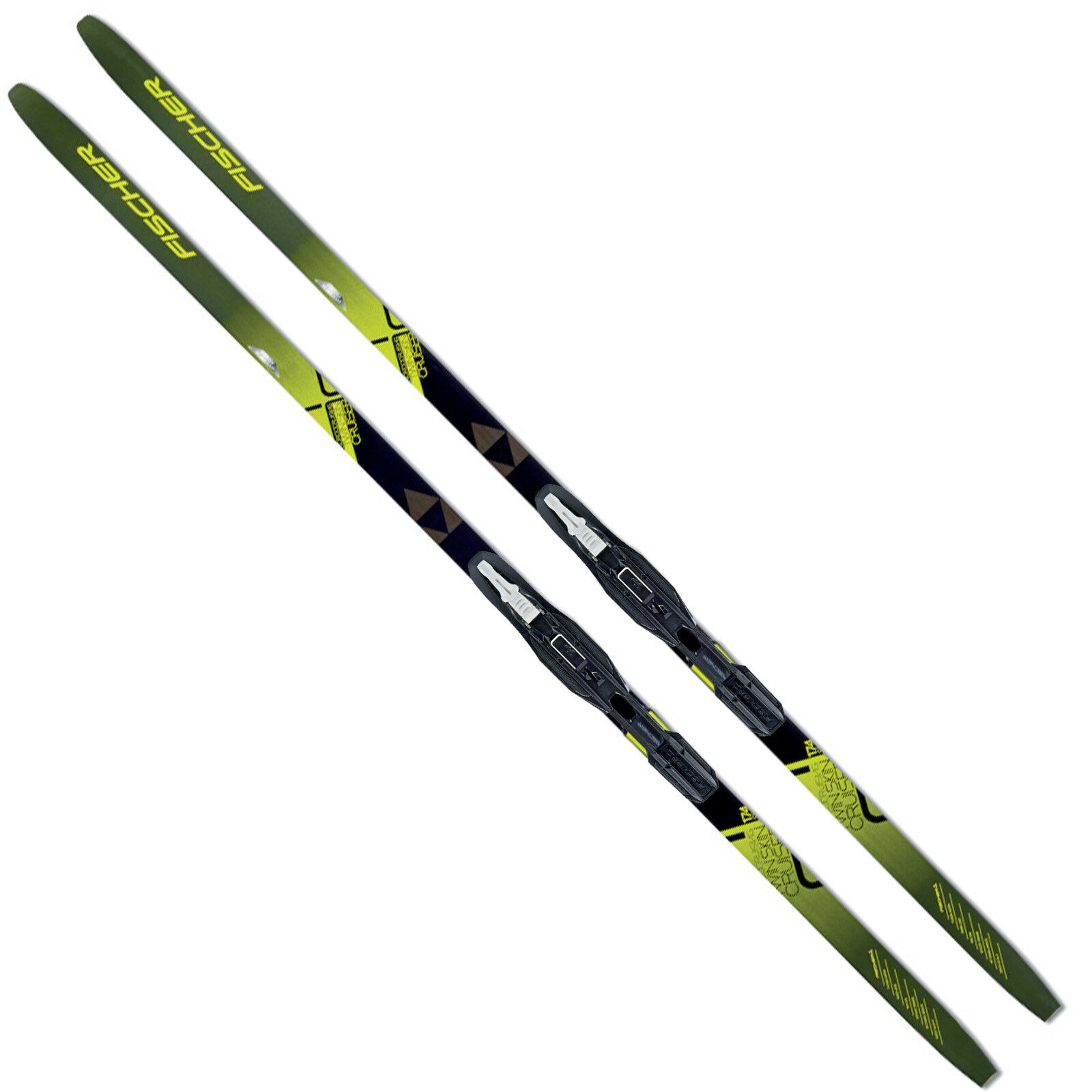 Fischer Twin Skin Cruiser Ef Mounted cross Country Skis  + Tour Step-In Binding  discount store