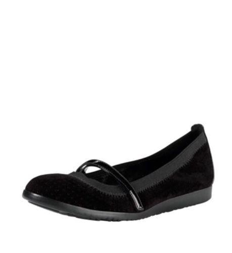(precio de venta recohombresdado 138  )La nueva modelo Cole Haan, Gilmore MJ, Mary Jane, calzado negro, talla 5.