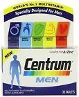 Centrum Men Multivitamin Multimineral - 30 Tablets Exp 05 16