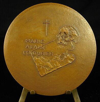 Comprar Barato Médaille Art Sacré Père Dominicain Marie Alain Couturier Artiste Skull Medal