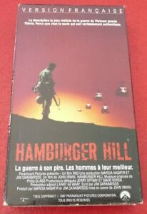 VHS-French-Movie-Hamburger-Hill-Version-Francaise