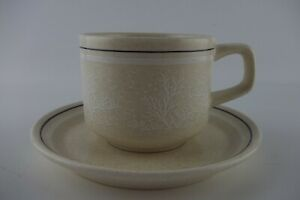 Lenox Temper-ware Silhouette Cup/Mug and Saucer Set