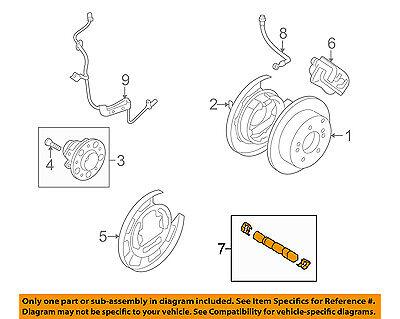 Genuine Hyundai 58302-2LA31 Disc Brake Pad Kit Rear