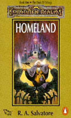 Homeland. Book One. the Dark Elf Trilogy-ExLibrary