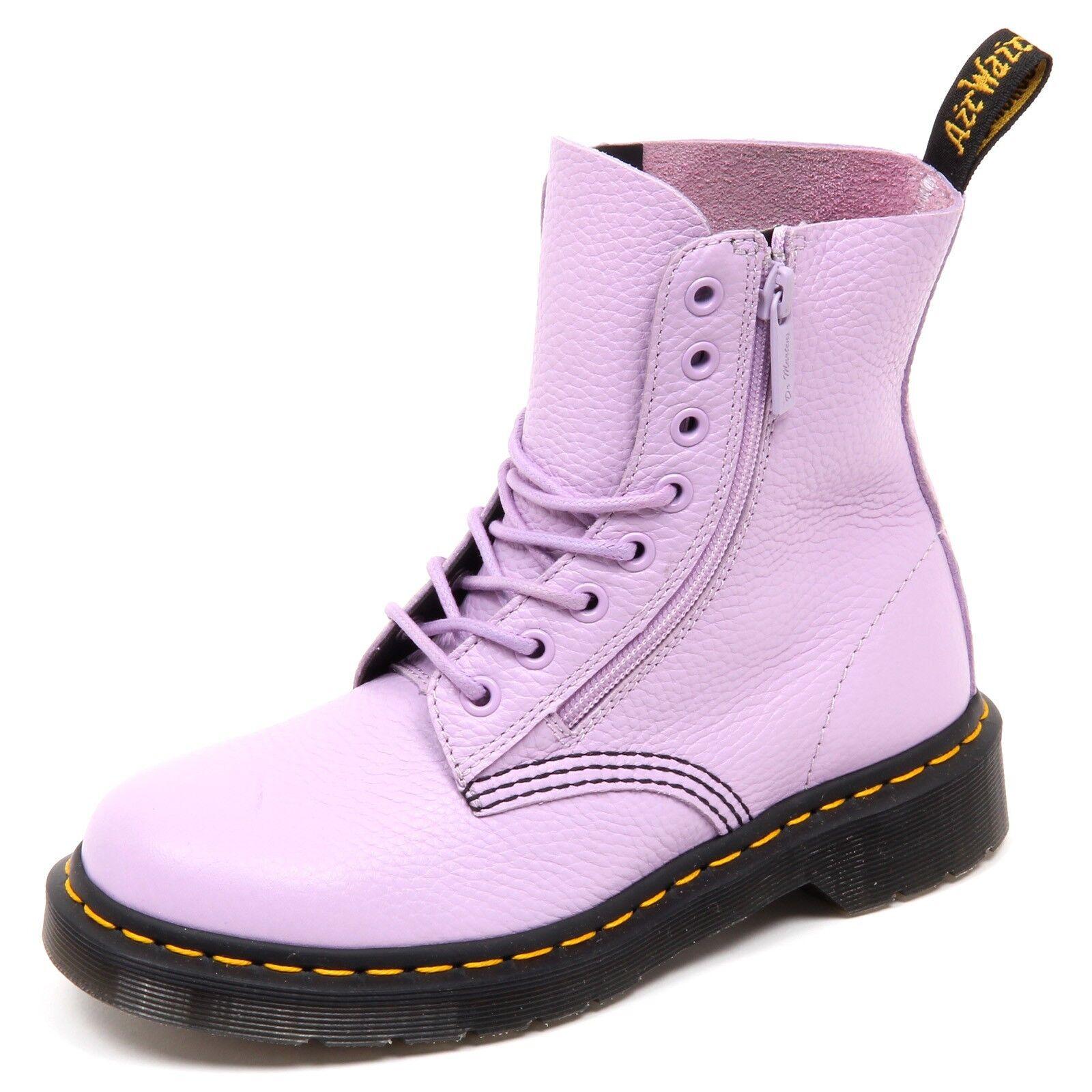 Grandes zapatos con descuento D6724 (without box) anfibio donna lilla DR. MARTENS PASCAL boot shoe woman