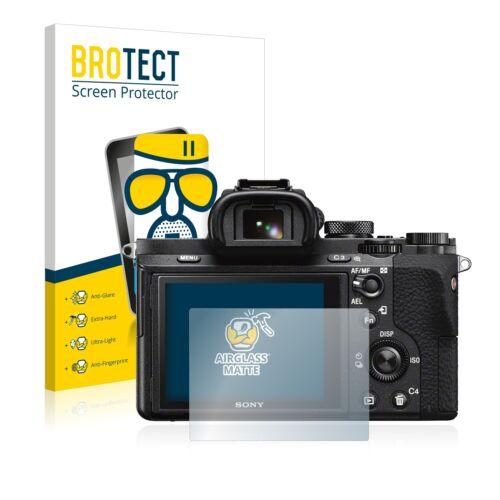 ILCE-7M2 Sony Alpha 7 II Cristal Mate Lámina de Vidrio Protector Pantalla