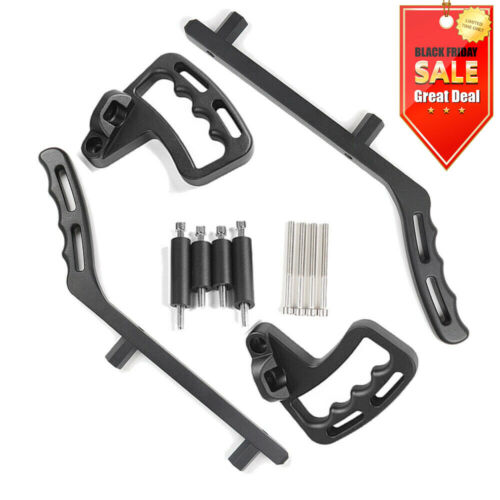 Grab Handles 4X Front Rear Bar Grab Handles for Jeep JK Wrangler Upgraded Black