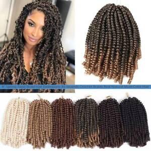Twist Braids Crochet Hair Extensions